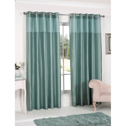 310290-310291-310292-310293-310294-PLEATED-TOP-BORDER-FULLY-LINED-CURTAIN-Duck-Egg