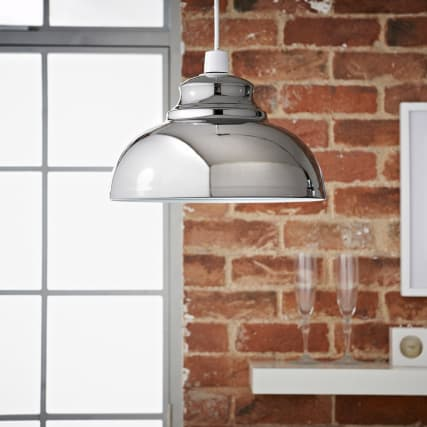 315656-Oslo-metal-shade-Dark-chrome