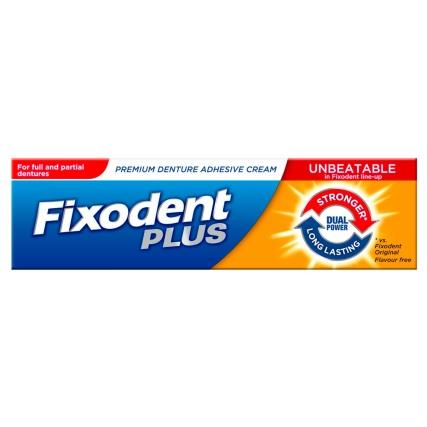 Fixodent Plus Denture Adhesive 40g Dental Care B Amp M Stores