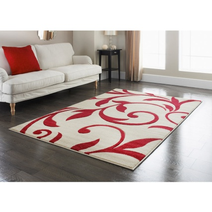 310848-310849-Traditional-red-scroll-rug