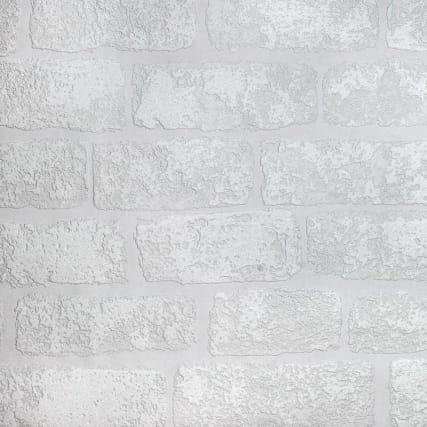 311234-anaglypta-brick-white-wallpaper