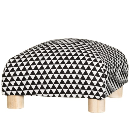 311238-Low-Patterned-Footstool-black-and-white1