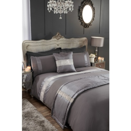 Diamante King Size Bed In A Bag Set Bedding Set B Amp M