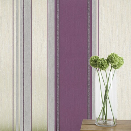 312169-SYNERGY-PLUM-STRIPE-Wallpaper