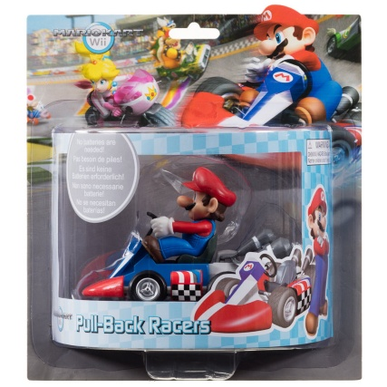 Mario Kart Wii Pull Back Racers Toys Toy Cars