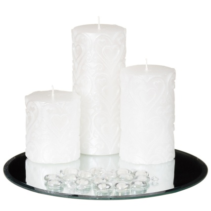 312817-Candle-Set-With-Mirror-Plate---Crystals-And-Pebbles-21