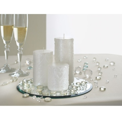 Wedding Candle Set Amp Mirror Plate Wedding Gifts Amp Ideas