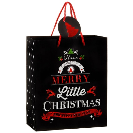 312885-2-pack-Medium-Slogan-Gift-Bags-black-have-yourself-a-merry-little-christmas-21