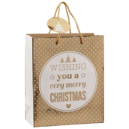 312885-2-pack-Medium-Slogan-Gift-Bags-gold-wishing-you-a-merry-christmas-21
