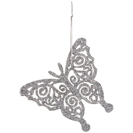 313164-16-pack-Glitter-Butterfly-Christmas-Tree-Decorations-silver-2