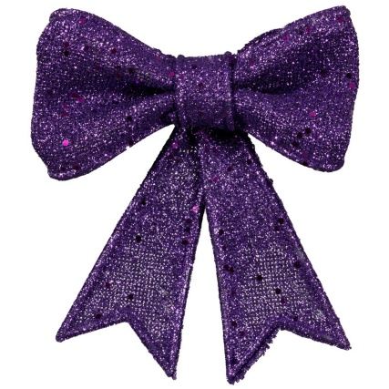 313293-3-Pack-Christmas-Glitter-Bows-purple