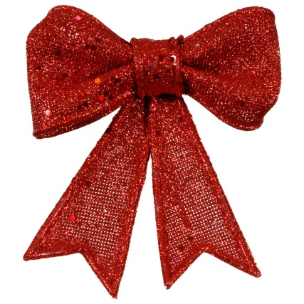 313293-3-Pack-Christmas-Glitter-Bows-red