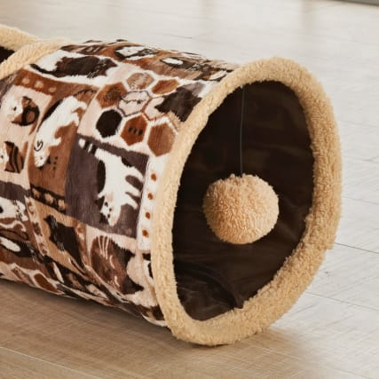 314327-cat-tunnel-brown