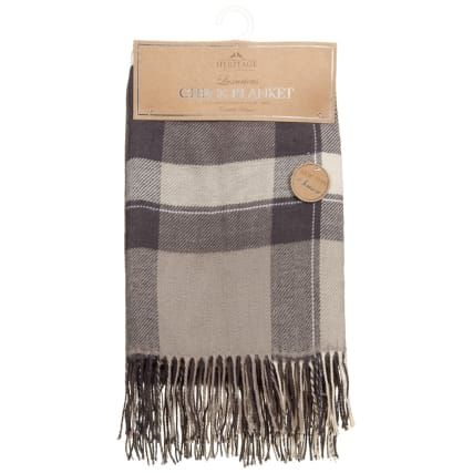 315204-Heritage-Luxurious-Check-Blanket-Grey