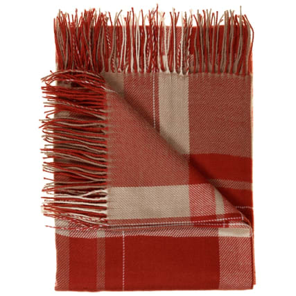 315204-Luxurious-Check-Blanket-Red