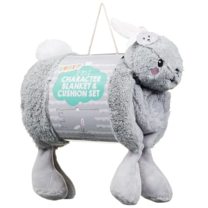 315219-2in1-Character-Blanket-and-Cushion-Set-rabbit1
