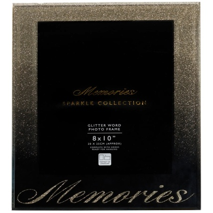 315990-Glitter-Ombre-Word-8x10-Photo-frame-memories-gold
