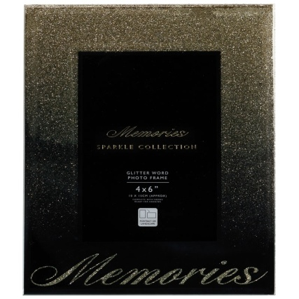315992-Glitter-Ombre-Word-6x4inch-Photo-Frame-memories-gold