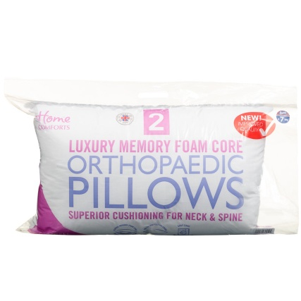 316045-2pk-Luxury-Memory-Foam-Core-Orthopaedic-Pillows