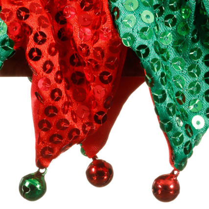 316604-Festive-Pet-Red-and-Green-Collar-detail1