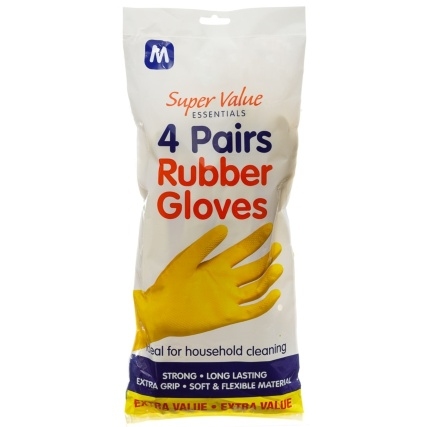 316778-4-Pairs-Rubber-Gloves-Medium