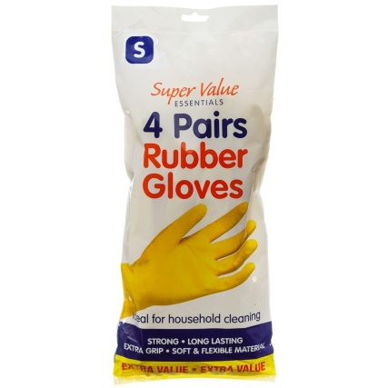 316778-4-Pairs-Rubber-Gloves-Small