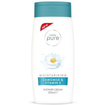 316875-cussons-pure-moisturising-camomile-vitaman-e-shower-cream500ml1