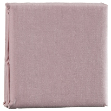 316932-Silentnight-Cotton-Rich-Percale-Bed-Linen-Housewife-pillowcase-Pair-blush1
