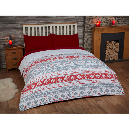 317346-Brushed-Cotton-Nordic-Bedspread-Red