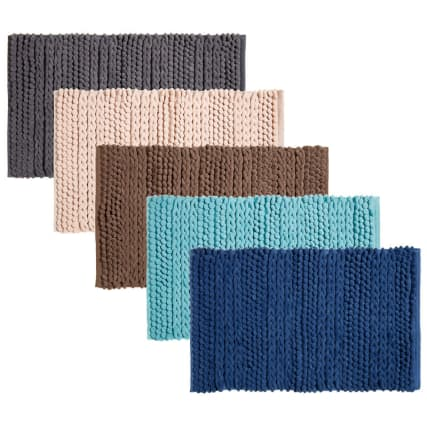 318015-Knitted-Texture-Microfibre-Chenille-Bathmats1