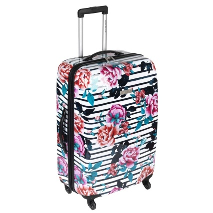 Sovereign Suitcase 81cm - Floral Stripe