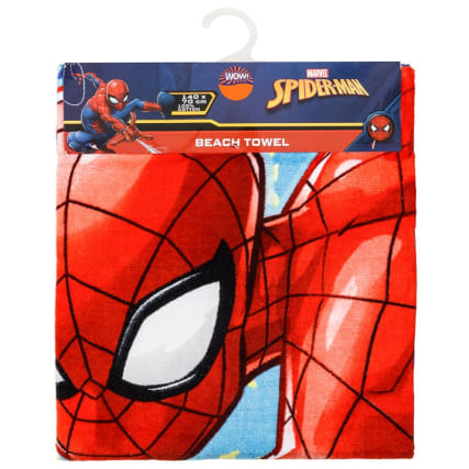 318574-marvel-spiderman-beach-towel