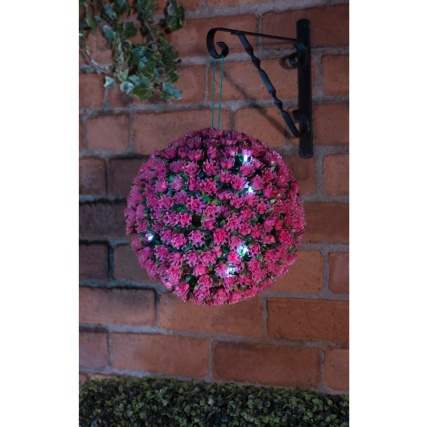 318734-Solar-Topiary-Ball-Pink-28cm
