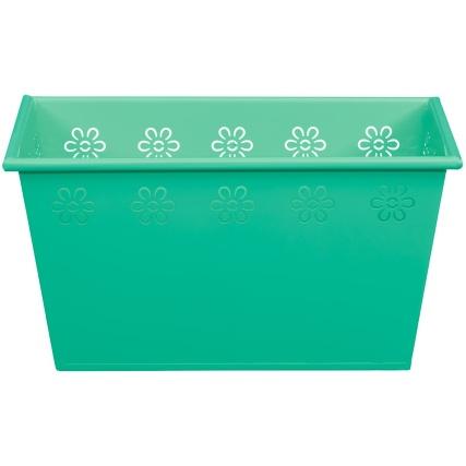 319102-rectangle-tin-planter-green