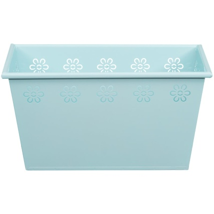 319102-rectangle-tin-planter-light-blue