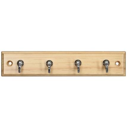 319384-Pine-And-Chrome-4--Hook-Key-Tidy