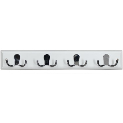 319394-White-And-Chrome-4-Double-Hook-Rail