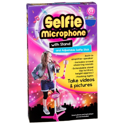 319441-Selfie-Microphone-with-Stand-and-Adjustable-Selfie-Stick