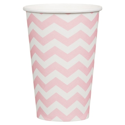 319842-20-pk-12oz-Paper-Cups-pink-chevrons-2