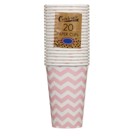 319842-20-pk-12oz-Paper-Cups-pink-chevrons