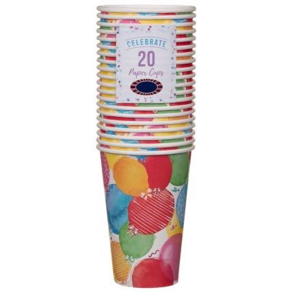 319842-paper-cups-12oz-20pk-balloons