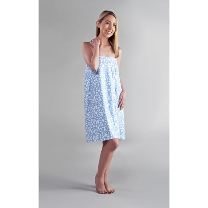 319857-Printed-Microfibre-Shower-Wrap-Blue