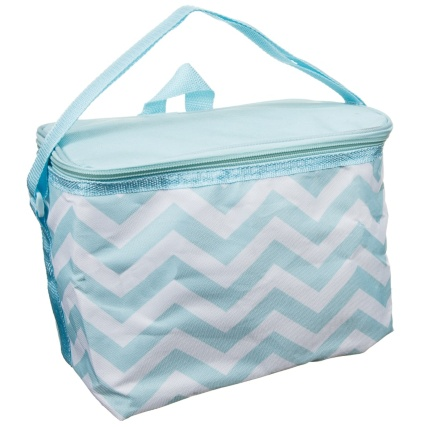 319883-Foldable-Lunch-Cool-Bag-Blue-Zig-Zag