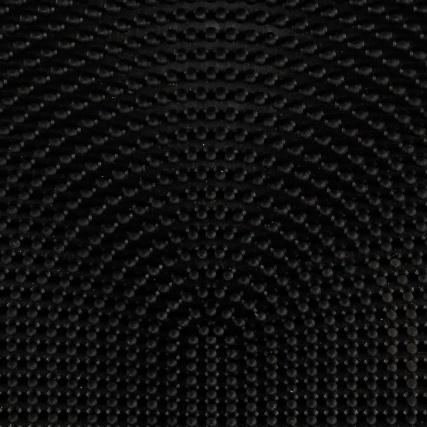 Rubber Pin Half Moon Doormat 45 X 75 Home Doormats B Amp M