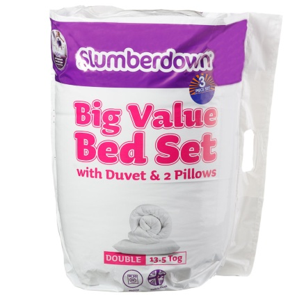 320405-Slumberdown-13_5-Tog-Double-Size-Bed-Set-with-Duvet-and-2-Pillows