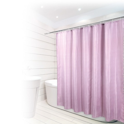 320487-Beldray-Jaquard-Shower-Curtain-Mauve
