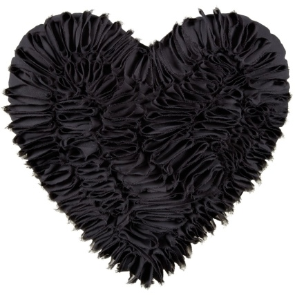 320642-Romance-Ruffle-Heart-Cushion-black