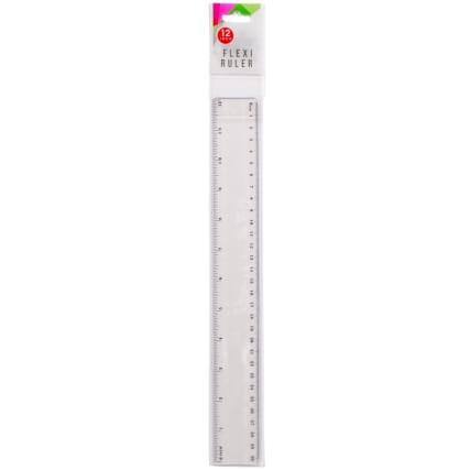 320671-Flexi-Ruler-30cm-Clear