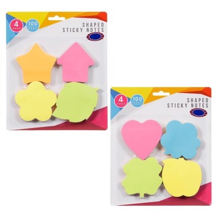 320675-4-pack-Shaped-Sticky-Notes-100-sheets-each-main