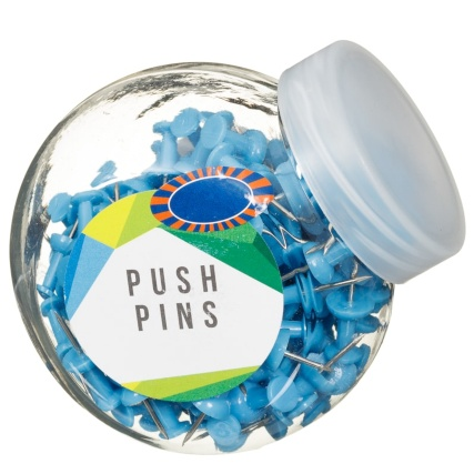 320679-Mini-Tubs-of-Blue-Push-Pins